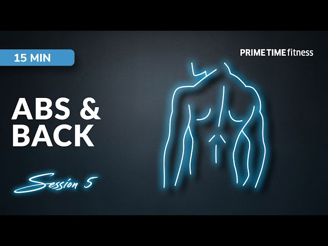 Abs & Back live Workout Session Vol.5