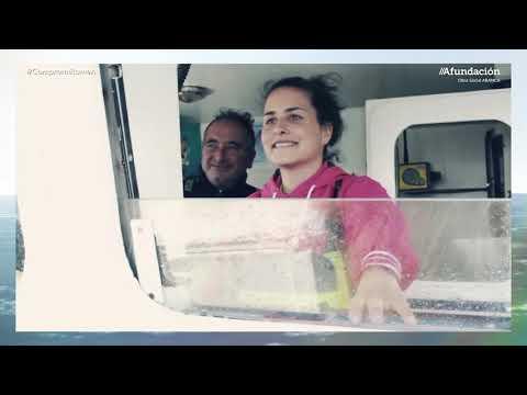 Jénifer Suárez, unha fisterrá entre as Mulleres do Mar