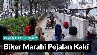 1MENIT | Biker Marahi Pejalan Kaki