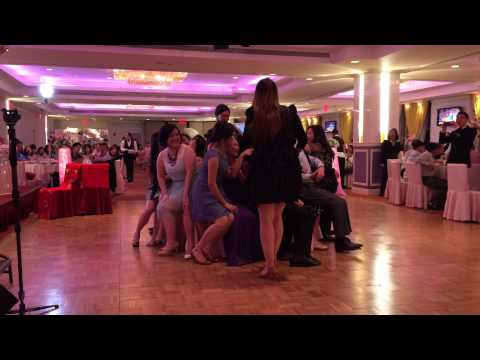 Tina and Dennis Wedding - Musical Chairs