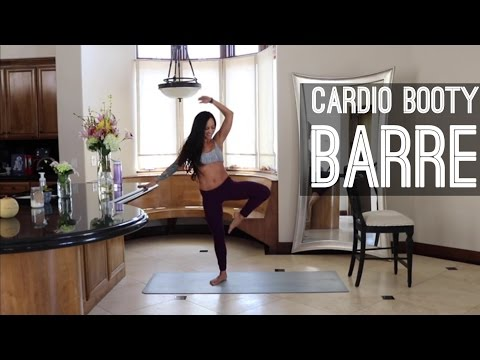 Cardio Booty Barre Sculpt (tone your booty at home)
