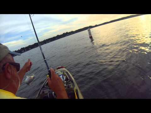 Kayak Fishing. Fun On The Magothy
