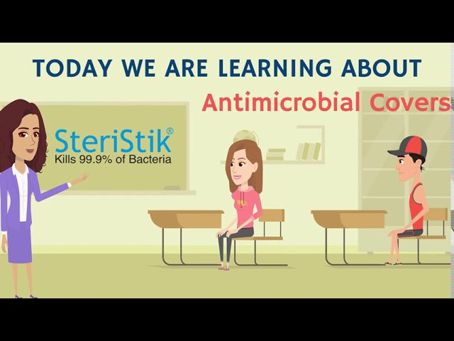 Antimicrobial Covers for Schools & Education