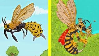 Эволюция КОРОЛЕВЫ ЗЛЫХ ПЧЕЛ! - Angry Bee Evolution