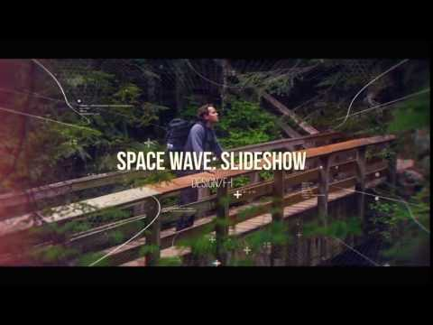 Space Wave - Slideshow After Effects Template