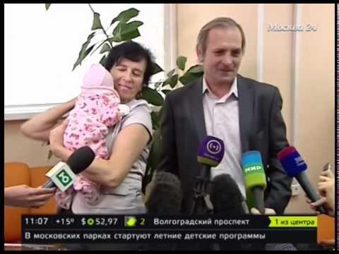 Родившая в 60 лет москвичка о воспитании дочки
