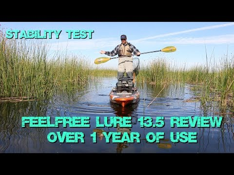 Feelfree Lure 13.5 Review - 1+ Year of Use - Stability Test