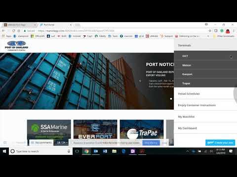 eModal Community Portal for Port of Oakland
