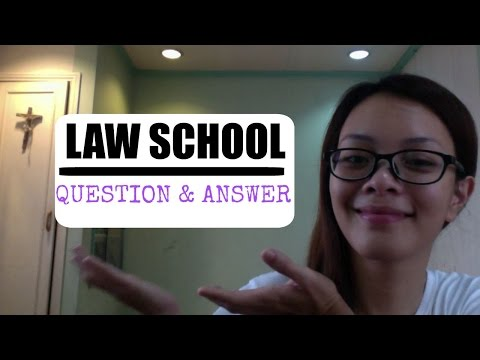 Law School | Q& A | Philippines ❤️
