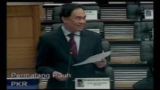 Anwar Ibrahim Siapa Nak Bangkit Isu 3 Billion Bangun Saya Jawab