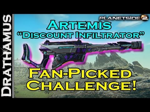 "Artemis Scout Rifle - ""Discount CQC Infiltrator"" Fan Picked Friday Challenge Ep. 10"