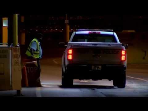 Raw: Port of Charleston Terminal Evacuated