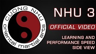 Cuong Nhu - Nhu 3 - Official Kata - Learning & Performance Speed - Side View