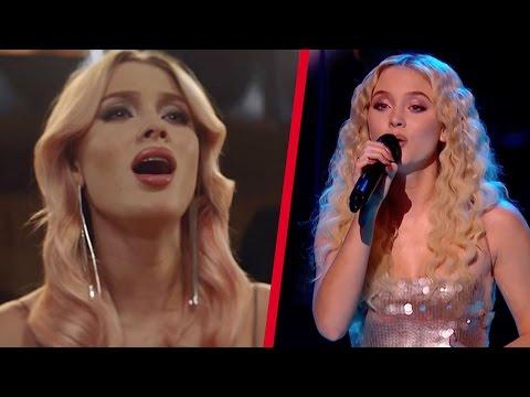 Zara Larsson - Studio vs Live