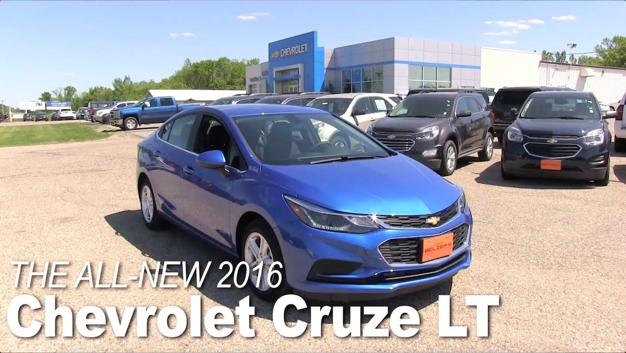 Jeff Belzer New Prague >> All-New 2016 Chevrolet Cruze Lakeville, New Prague, Bloomington, Minneapolis, St Paul, MN Specs ...