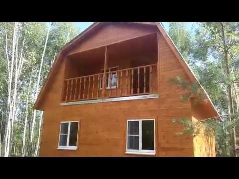 видео: Каркасный дом 6х6 с мансардой нижний новгород ПостройКа52