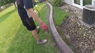 Landscape curbing - Stamping tips by Borderlineusa.com