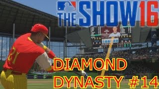 HIGHLIGHTS AND BLOOPERS | MLB The Show 16 | Diamond Dynasty #14