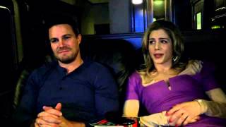 Stephen Amell - Emily created a new word.