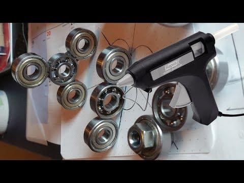 3 SIMPLE WAYS TO BUILD A DIY FIDGET Spinner!!! Easiest Way with Glue gun.