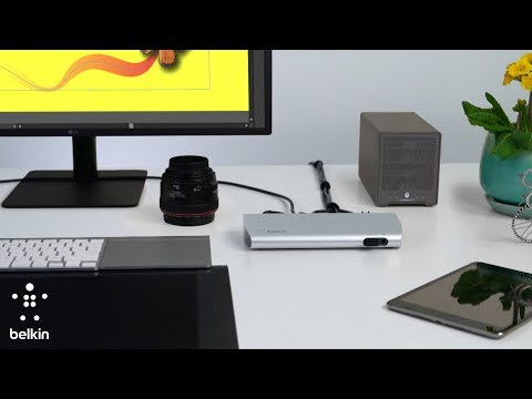 Discover the Thunderbolt 3 Express Dock by Belkin