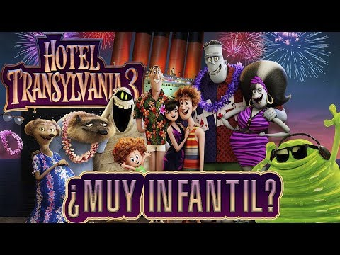 Hotel Transilvania 3 - Muy divertida pero...