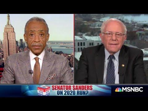 """Bernie Sanders on 2020 Presidential Run: """"We're Looking At It"""""""