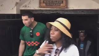 African American Hollywood Celebrities tours Ghana's Cape Coast Castle Pt2