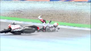 Moto2 Crash Reel