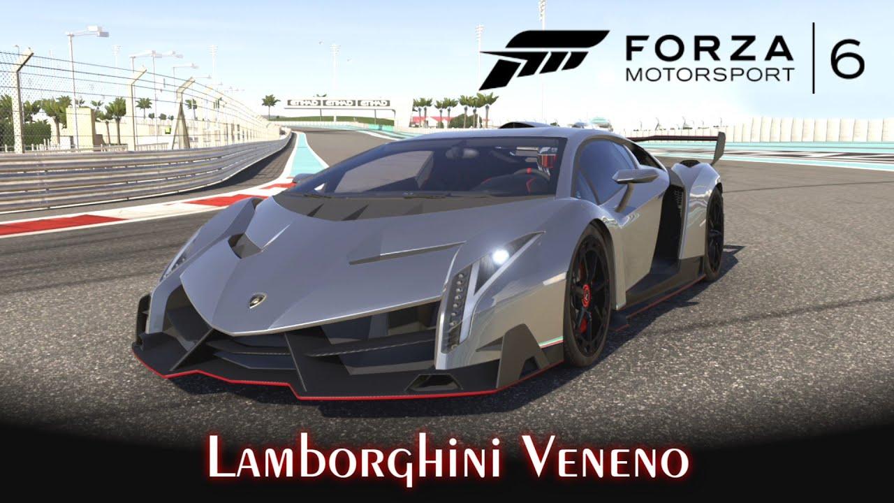 Lamborghini Veneno! Rio De Janeiro E Yas Marina   Forza Motorsport 6 [PT BR]