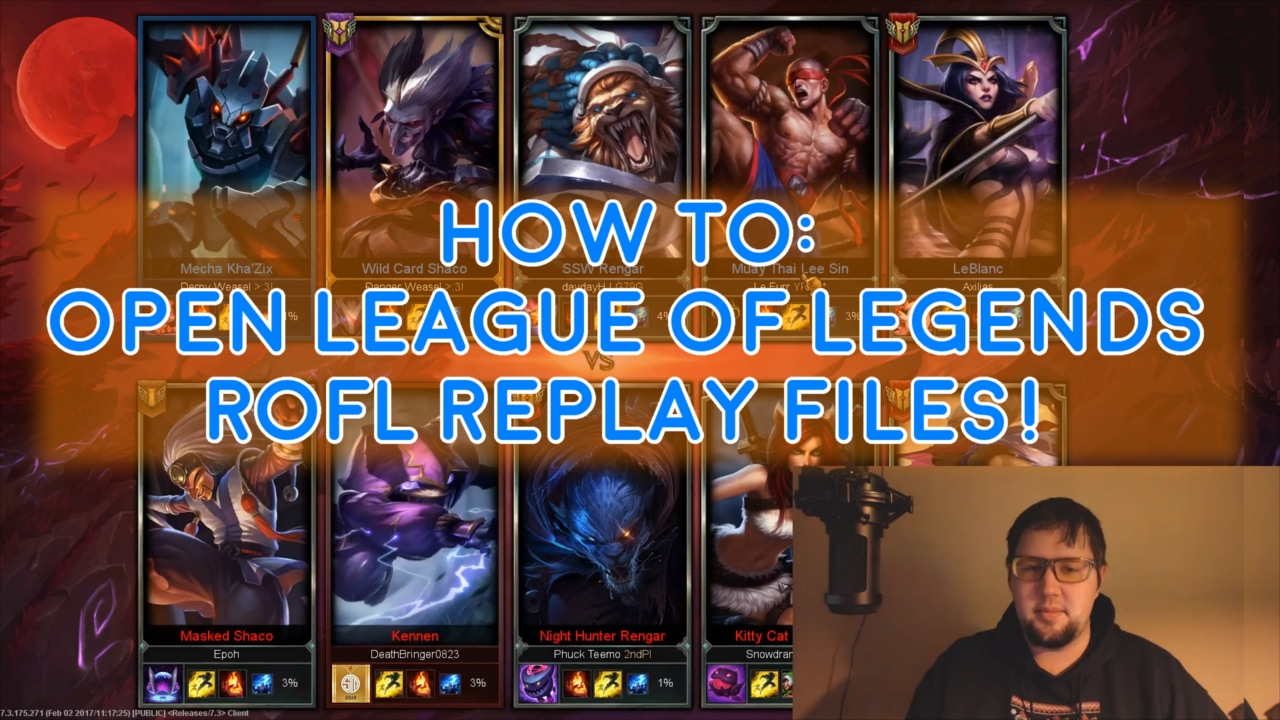 how to convert league of legends replay files