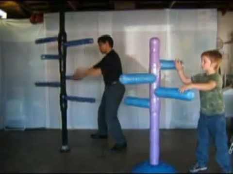 SPIN GYM MARTIAL ARTS TARGET DUMMY
