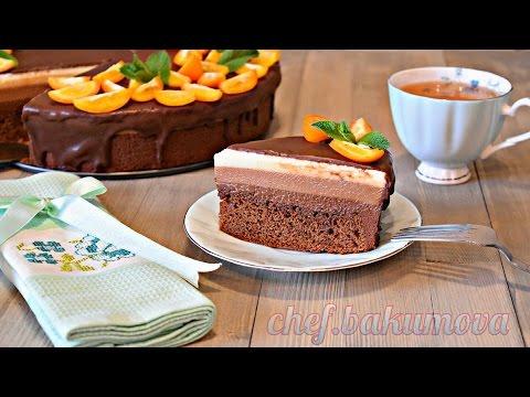 Муссовый торт ТРИ ШОКОЛАДА. Пошаговое исполнение / Mousse cake Three chocolate