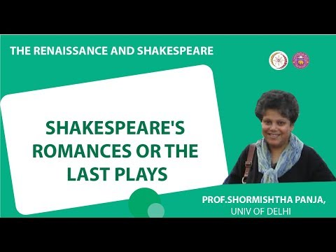 3 3 Shakespeare's Romances or The Last Plays