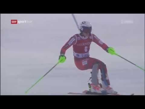 Henrik Kristoffersen takes third place Men's Slalom - Levi FIS Alpine Skiing World Cup 2017