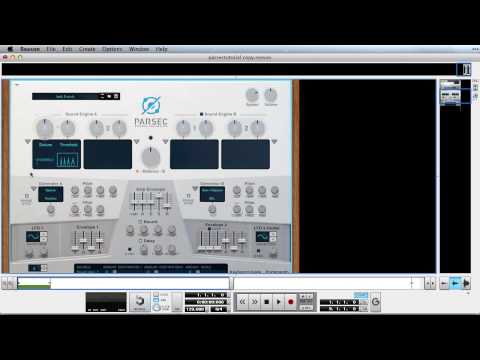 Creating a rich pad sound with Parsec - Reason Tips