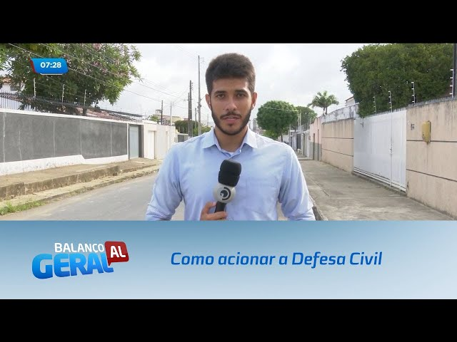 Orientações de como acionar a Defesa Civil em casos de chuvas fortes