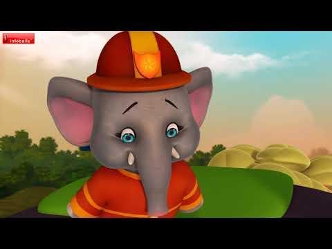Aane Mari Aane Mari | Kannada Animal Rhymes for Children | Infobells