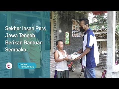 Sekber Insan Pers Jawa Tengah Berikan Bantuan Sembako