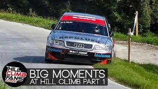BIG MOMENTS at Hill Climb | nearly crashed PART 1