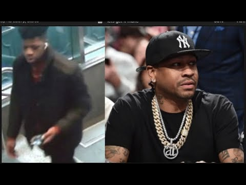 Allen Iverson Robbed From $500K In Jewelry From Random Kid At Philly Hotel| FERRO REACTS