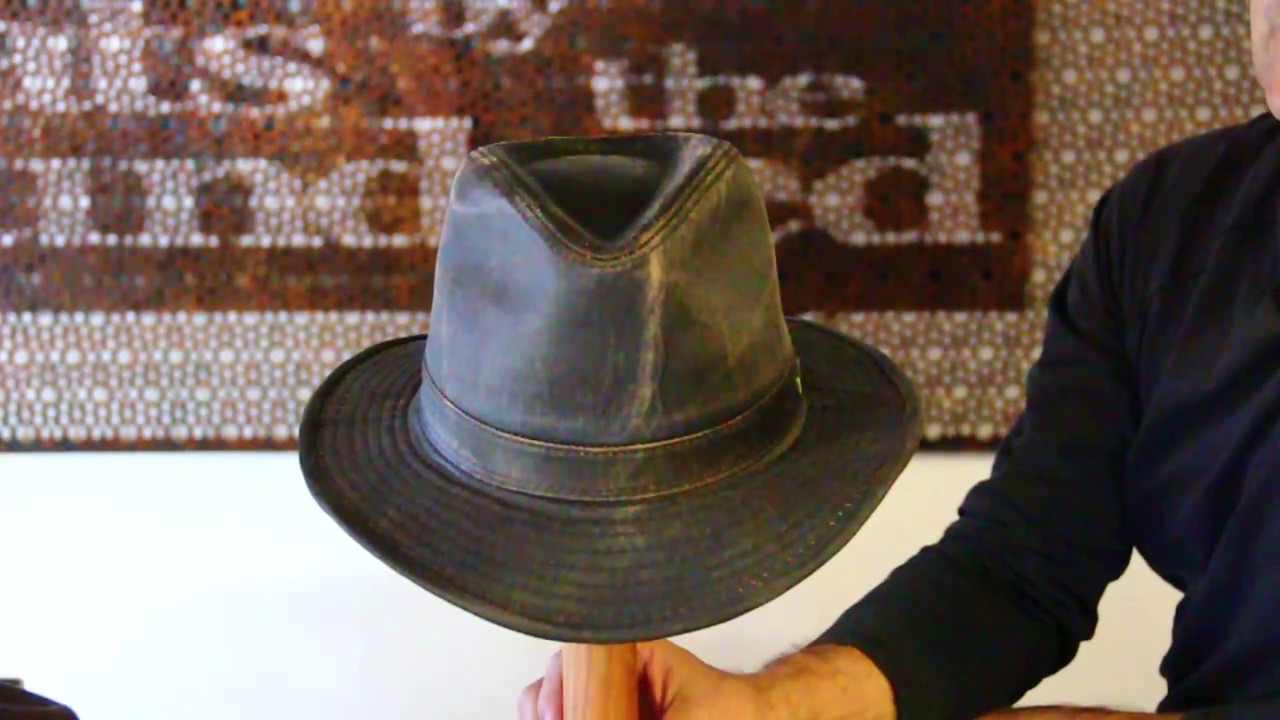 Indiana Jones Weathered Hat Review- Hats By The Hundred - YouTube 82c703f8f5b3