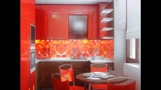 видео скинали - стеклянные фартуки для кухни