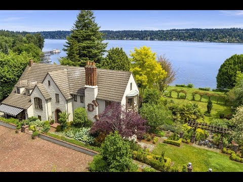 Magnificent Lakefront Estate in Seattle, Washington  Sothes International Realty