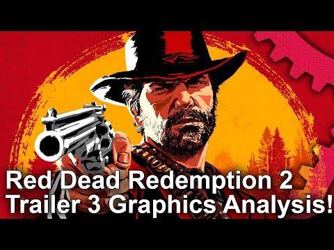 Red Dead Redemption 2 Trailer #3 Analysis! New RAGE Engine Tech Upgrades!