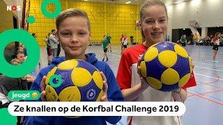 Beste jonge korfballers van Nederland in actie