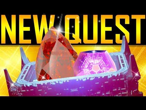 Destiny 2 - MASTERWORK ENGRAM OPENING! New Quest!