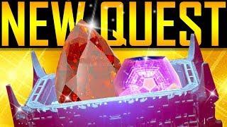Destiny 2 - MASTERWORK ENGRAM OPENING! New Quest! thumbnail