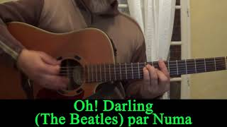 Oh! Darling (The Beatles) acoustic guitar cover