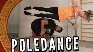 Pole Dance entgegen der Schwerkraft!